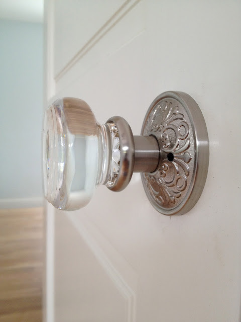 glass Door knob by Emtek - Mediterranean - Hall - miami