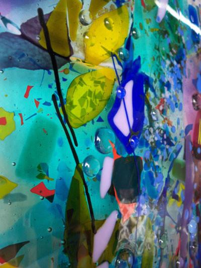 Glass Wall Art Panels