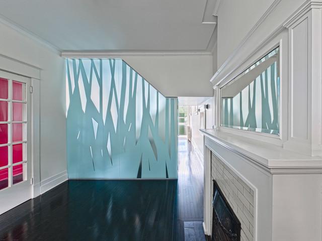 Glebe Garden and Interior modern-hall