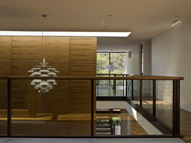 modern hall by Architecture Workshop 4B LLC
