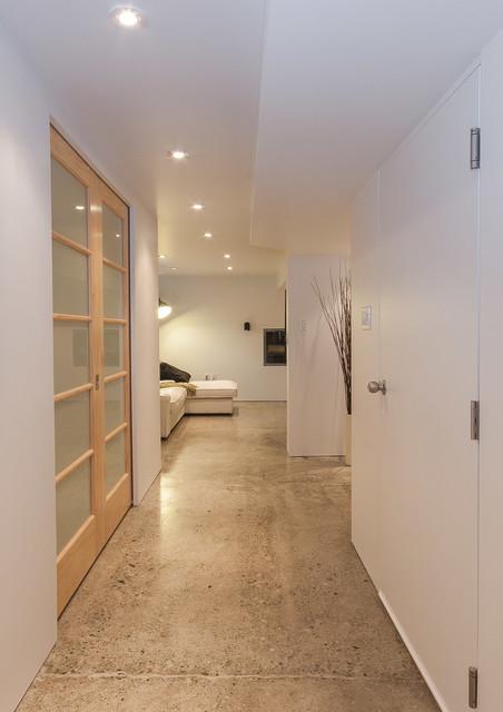 glenmore legal basement suite modern hall