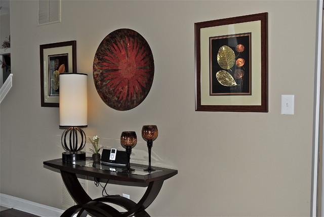 Grownup Family Room eclectic-hall