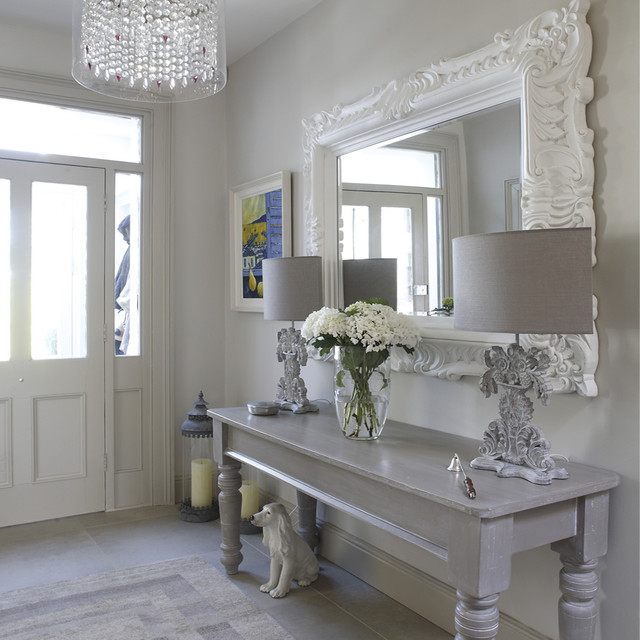 hall shabby chic style hallway landing other metro by optimise design. Black Bedroom Furniture Sets. Home Design Ideas