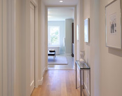 hallway contemporary hall