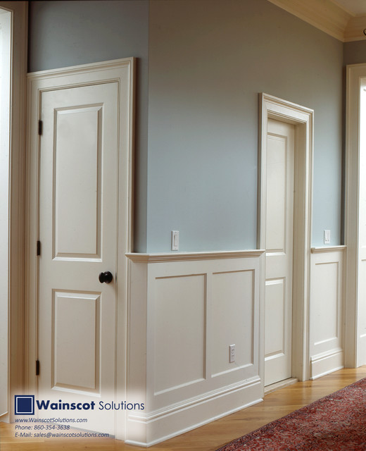 Hallway Designs By Wainscot Solutions Traditional Hall New York