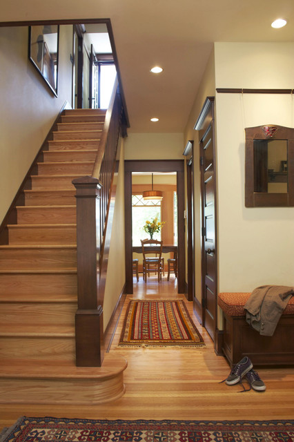 Hallway Traditional Hall Portland By Emerick