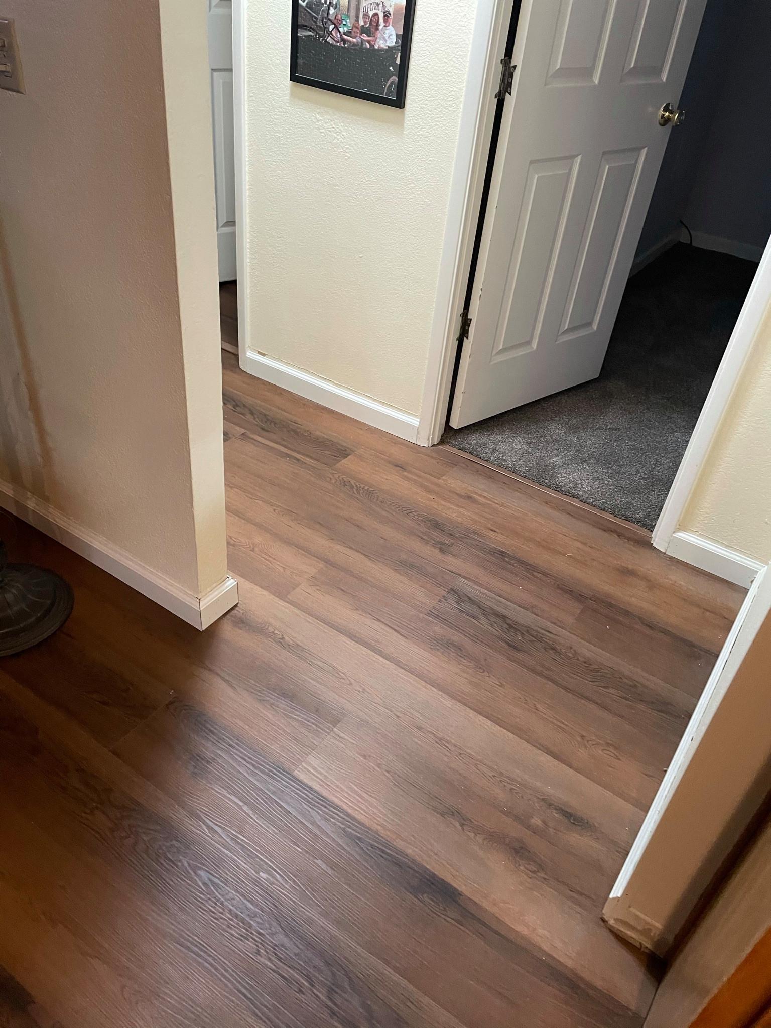 Hallway Leading to Master Bedroom