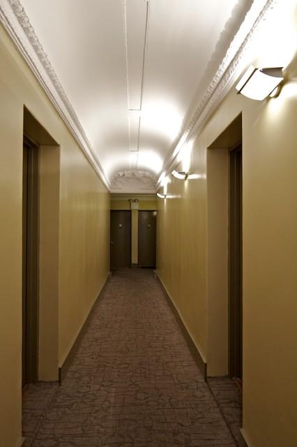 Hallway Renovation traditional-hall