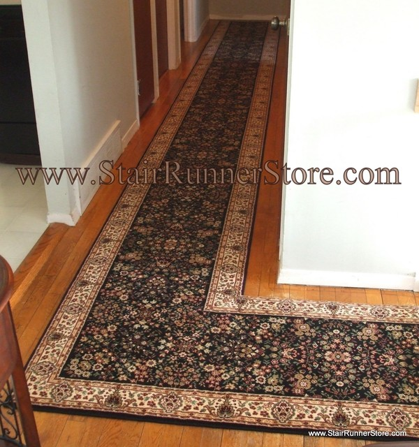 Hallway Runner Installations - Eclectic - Hall - new york - by The Stair Runner Store - Creative ...