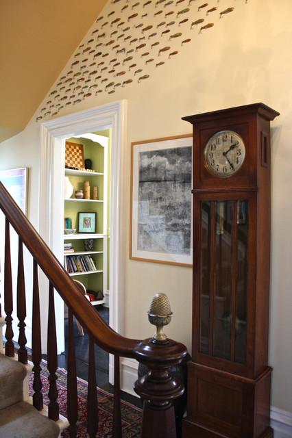 Hallway eclectic-hall
