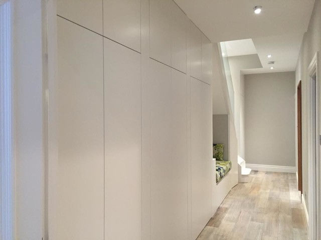 Hallway storage cabinets contemporary hall london