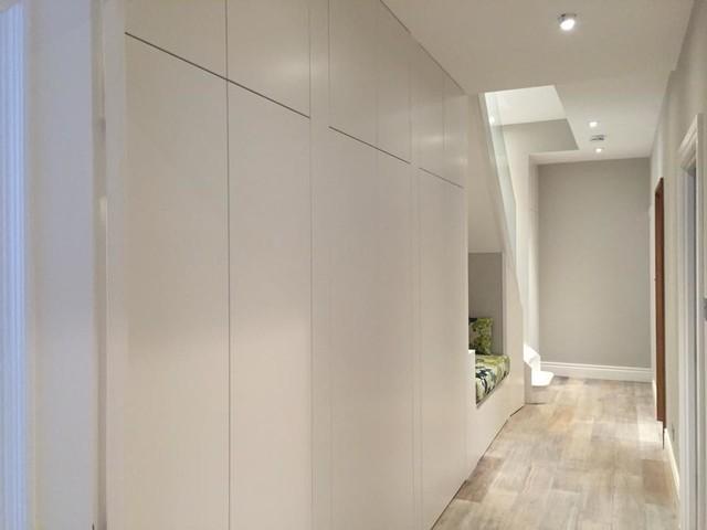 Hallway storage cabinets - Contemporary - Hall - London ...