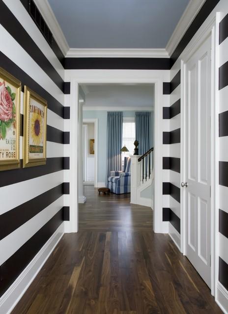 Hallway Stripes hall