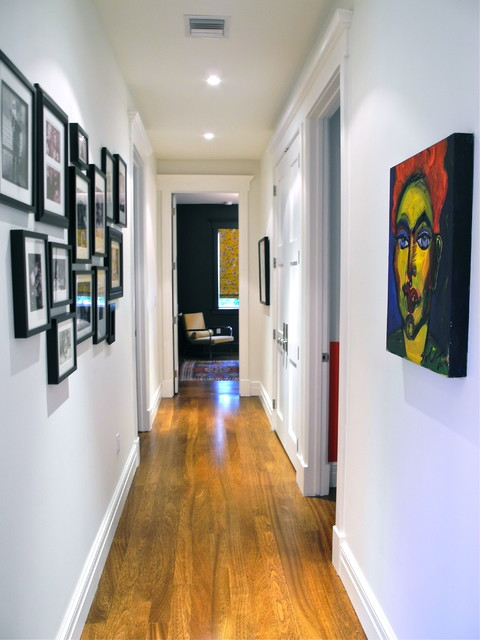 Hallway To Bedrooms Contemporary Hall Miami By B