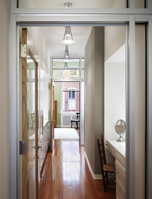 Hallway to master bedroom modern hall philadelphia by krieger associates architects inc Hallway to master bedroom