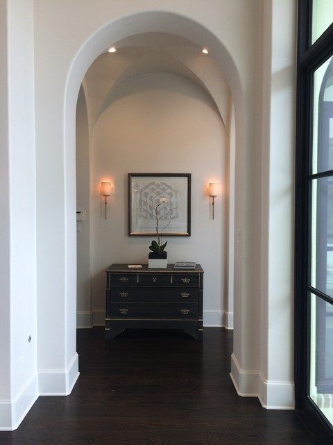 Hallway to master bedroom american traditional corridor houston by woodstone builders llc Hallway to master bedroom