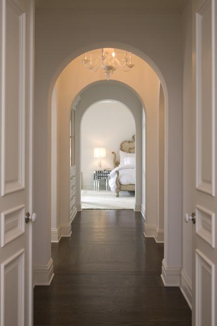 Hallway To Master Mediterranean Hall Minneapolis