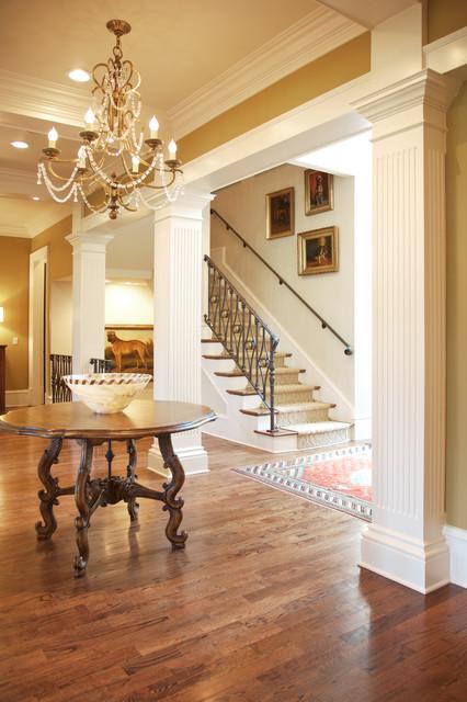 Hallways traditional-hall
