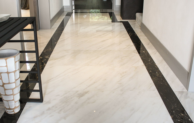 Hampstead hallway kitchen modern hall london by Tiles for hall in india