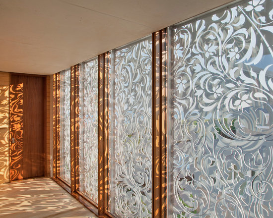 Cnc cut acrylic ceiling panels home design ideas pictures - Decorative glass wall panels ...