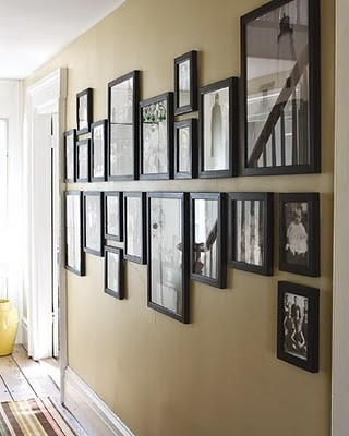Hanging Picture - contemporary - hall - other metro