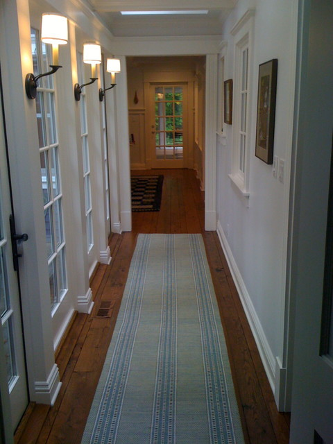 Harbert Terrace Hallway traditional-hall