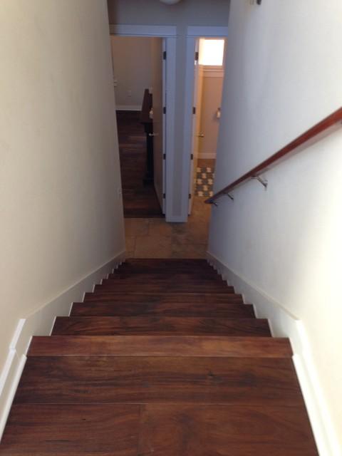 Hardwood hallway rustic hall austin by for Hardwood flooring deals
