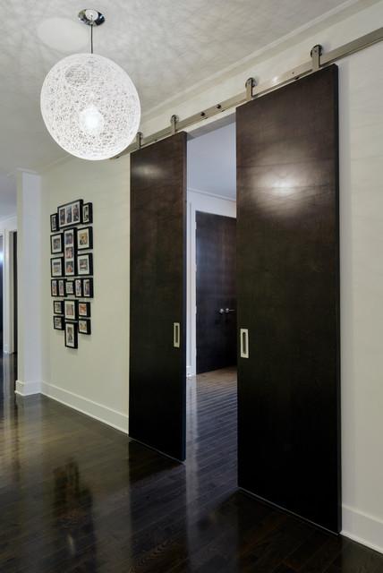 hare modern flur ottawa von tanya collins design inc. Black Bedroom Furniture Sets. Home Design Ideas
