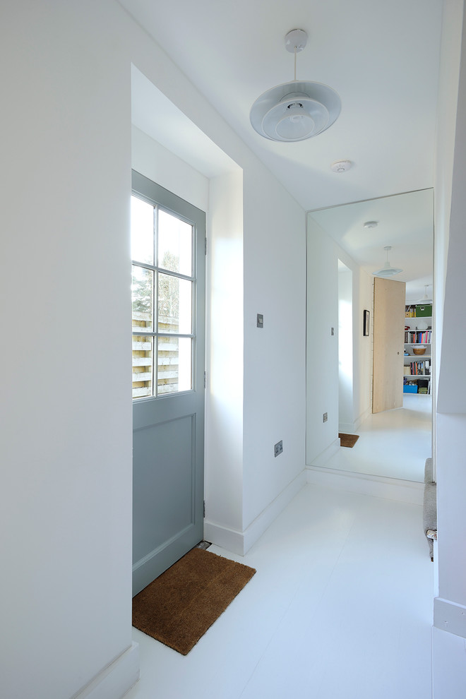 Inspiration for a scandinavian hallway remodel in Other