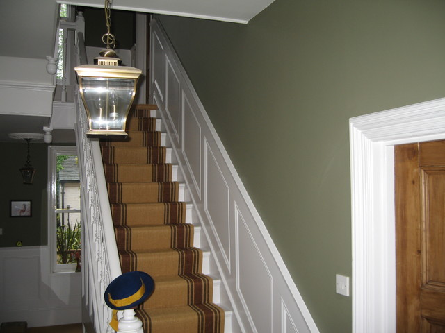 Heritage Panelling - Traditional - Hall - London - by The Wall Panelling Company