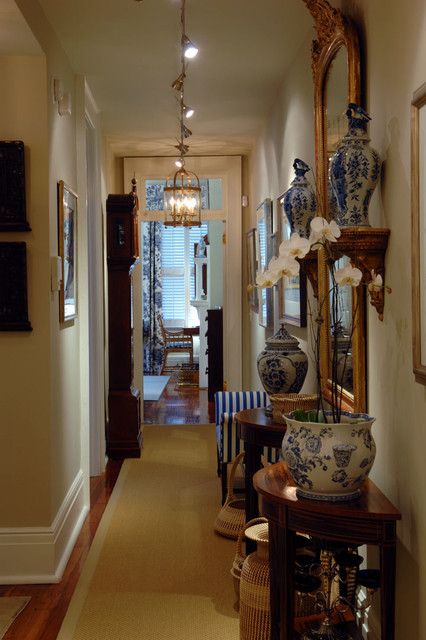 Inspiration for a timeless hallway remodel in Charleston