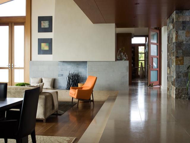 Rustic Hall by Sutton Suzuki Architects