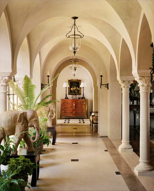 hilltop villa mediterran flur san francisco von. Black Bedroom Furniture Sets. Home Design Ideas