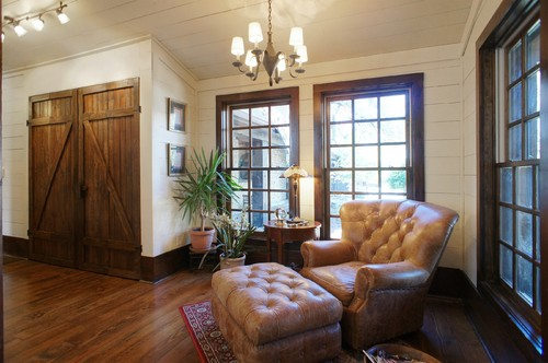 What Kind Of Wood Trim Is Used Around Windows And What