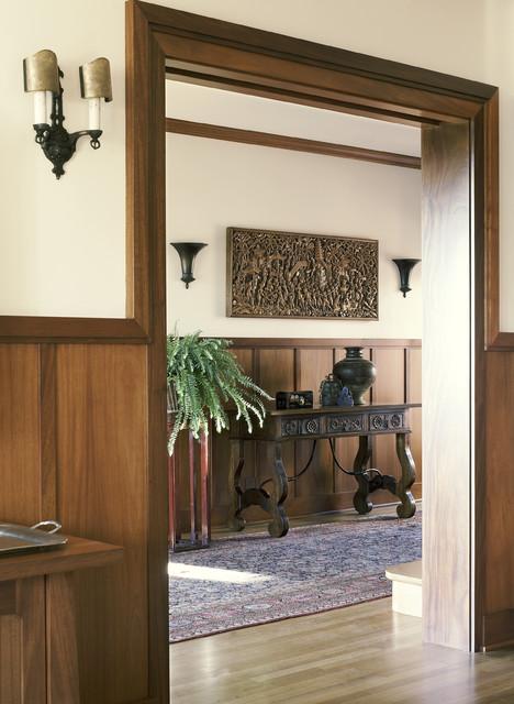 Historic Irving Gill traditional-hall