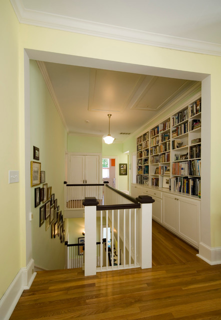 Historic Renovation Traditional Hall Raleigh By