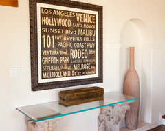 Hollywood Hills Home transitional-hall