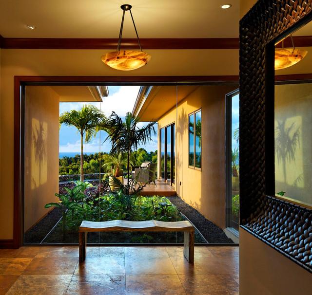 Honolua Ridge, Maui, Residence tropical-hall