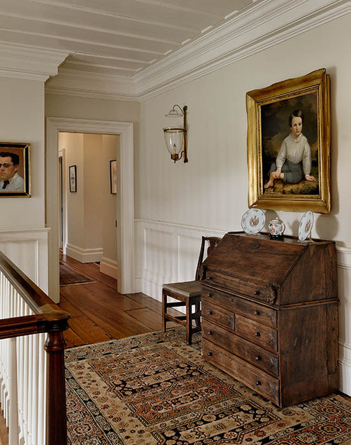 Horse Country Home traditional-hall