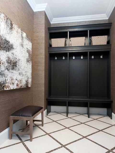 Hospital Home Lottery 2012 - Mudroom contemporary-hall