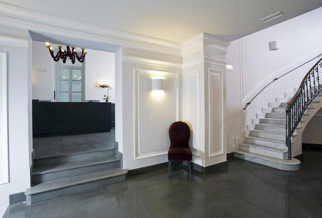 Contemporary Hotel Foyer : Hotel palazzo decumani naples italy contemporary