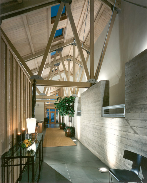 An Issaquah home design captures the art of geometeric home design