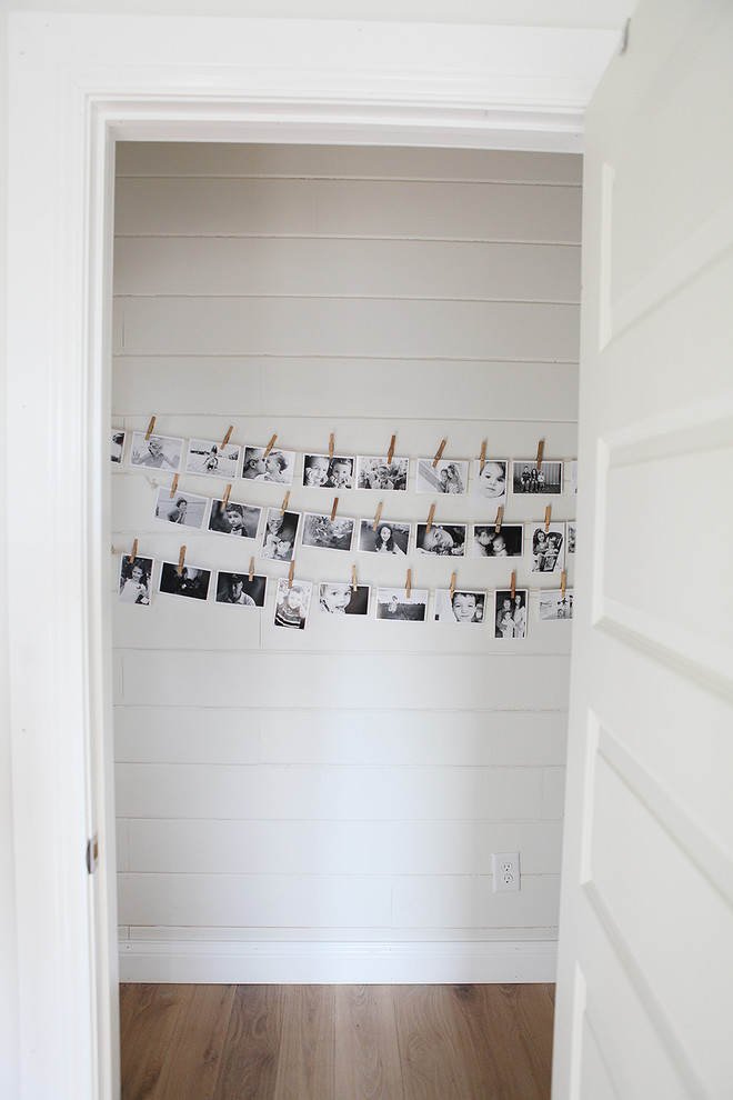 Inspiration for a country hallway remodel in Columbus