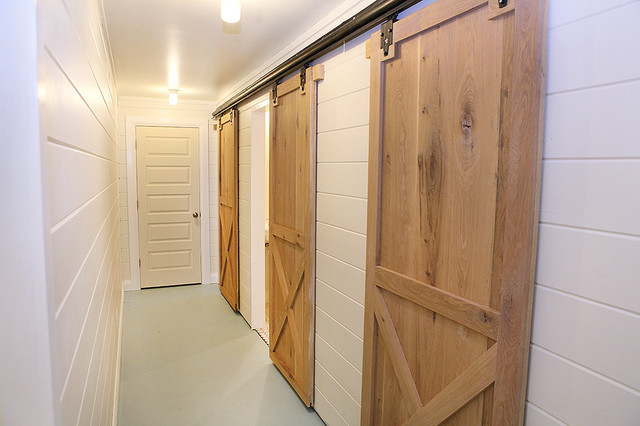 barn doors  hall