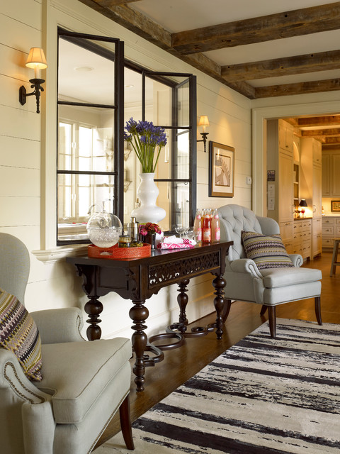 In Atlanta Homes With Thomasville Furniture Eclectic Hall Atlanta