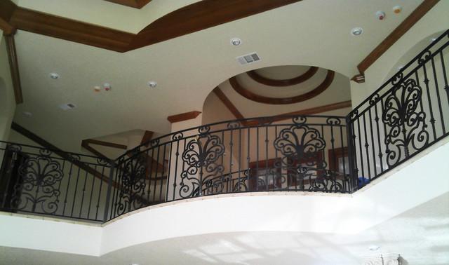 Indoor Balcony Railings - Traditional - Hall - Austin - by San ...
