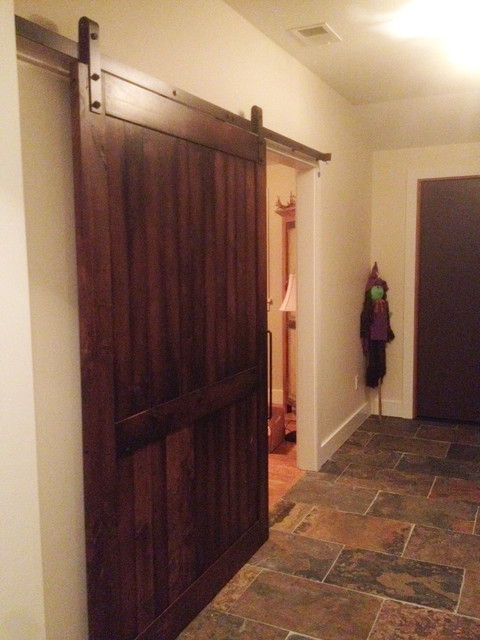 Industrial Barn Door : Industrial barn door hardware and doors traditional