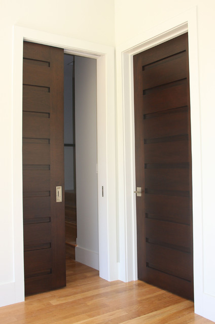 Interior doors rustic entry other metro by appwood for Contemporary interior doors