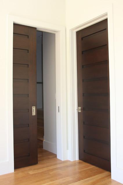 Interior Doors Rustic Hall