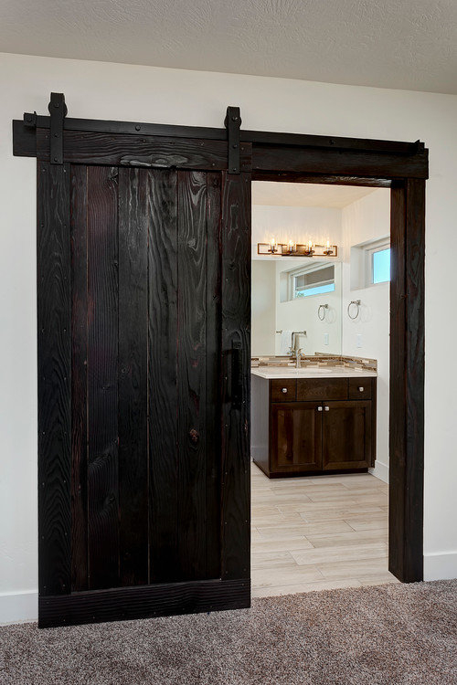 Barn Doors, Rustic Trim U0026 Accents In Shou Sugi Ban, Too Dark?